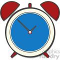 Alarm clock clip art vector images