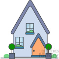 House vector clip art images