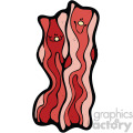 cartoon vector bacon