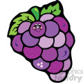 cartoon vector grapes