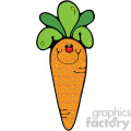 cute cartoon carrot