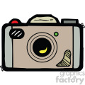 cartoon camera vector clipart