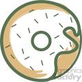 doughnut vector flat icon design