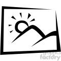 photo vector flat icon