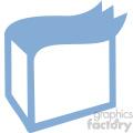 delivery box vector icon art