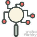 data research vector icon