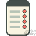 project to do list vector icon