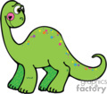 green smile dino