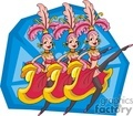 gambling casino casinos las vegas show girl girls dancers   lv041-c clip art entertainment las vegas
