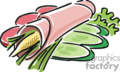 Ham roll.
