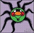 Funny fuzzy spider