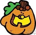 halloween halloweens scary pumpkin pumpkins   pumpkin009_prc clip art holidays halloween pumpkins  gif, jpg, eps