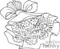 Spel229_bw vector clip art image