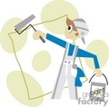 work occupations occupational working painter painters handyman   occupations15-9-04 clip art people occupations  gif, jpg