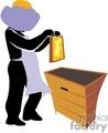 beekeeper gif, jpg, eps
