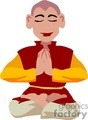 religion religious pray praying monk monks meditating buddha meditation   religion024yy clip art religion