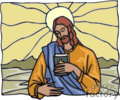 jesus holding a bible picture gif