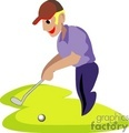 golf golfer golfers golfing   1004golf003 clip art sports golf cartoon gif, jpg