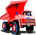 heavy equipment construction truck trucks dump   transport_04_039 clip art transportation land  gif