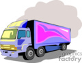 heavy equipment construction truck trucks box   transport_04_044 clip art transportation land  gif