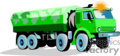 heavy equipment construction truck trucks dump   transport_04_064 clip art transportation land  gif