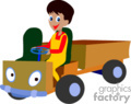 heavy equipment construction truck trucks dump   transport_04_089 clip art transportation land  gif