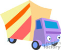 heavy equipment construction truck trucks box   transport_04_129 clip art transportation land  gif