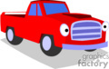 truck trucks pickup pickups   transport_04_144 clip art transportation land  gif