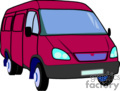 truck trucks van vans   transport_04_149 clip art transportation land  gif