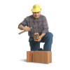 brick bricks layer construction worker labor manual   3d0004lowres photos people