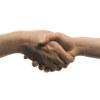 shaking hand gesture