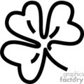 shamrock outline