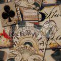 tiled vintage background vector clip art image