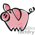 little pink pig gif, png, jpg