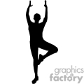 people shadow shadows silhouette silhouettes black white vinyl ready vinyl-ready cutter action vector eps png jpg gif clipart yoga exercise vrksasana pose posture gif, png, jpg, eps