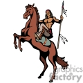 indian indians native americans western navajo horse horses vector eps jpg png clipart people gif
