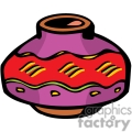 indian indians native americans western navajo pottery vase vector eps jpg png clipart people gif gif, png, jpg, eps