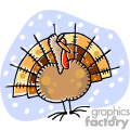 whimsical turkey gif, png