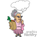 women doing her grocery shopping gif, png, jpg, eps