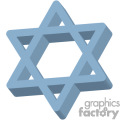 3d star of david gif, png, jpg, eps