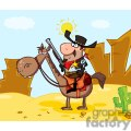 sheriff with gun on horse in front of a western landscape gif, png, jpg, eps, svg, pdf