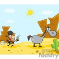 2706-Outlaw-Cowboy-Escapes-To-His-Horse