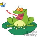 cartoon-frog-on-a-lilypad  gif, png, jpg, eps, svg, pdf