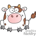 cartoon dairy cow gif, png, jpg, eps, svg, pdf