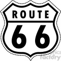 vector Route 66