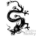 chinese dragons 003 vector clip art image