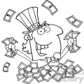 102525-Cartoon-Clipart-Uncle-Sam-Holding-Cash