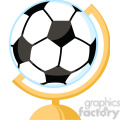 102551-Cartoon-Clipart-Globe-With-Soccer-Ball