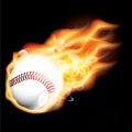 flaming baseball gif, png, jpg, eps, svg, pdf