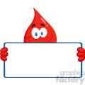 cartoon-blood-drop-with-blank-sign  gif, png, jpg, eps, svg, pdf